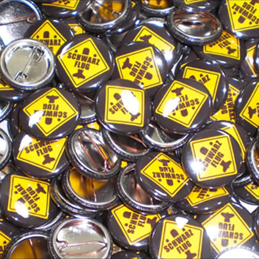 Buttons, Werbebuttons, 1 Inch Buttons, Anstecknadeln, Ansteckbuttons, Werbeartikel