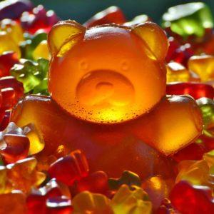 Fruchtgummi, Werbeartikel, Gummibärchen, Werbetütchen, Give-Away, bedruckte Werbetütchen, Süßes, Schokolade, Tic Tac, Pfefferminz