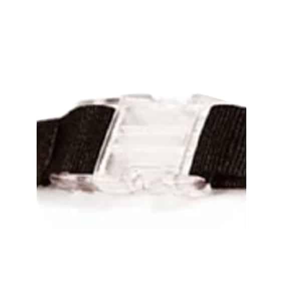 Lanyards, Schlüsselbänder transparenter PVC Steck-Verschluss optionales Extra Verbindungsstück