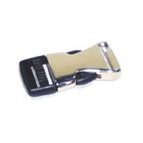 Lanyards, Schlüsselbänder Zwischenstück Metall-PVC Clip optionales Extra Verbindungsstück