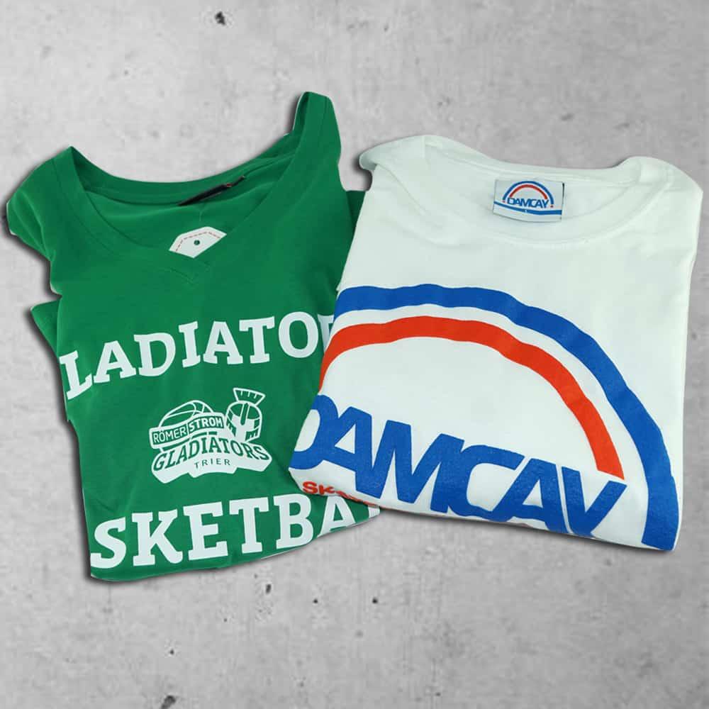 Textilveredelung - T-shirt Druck - Poloshirts - Werbe-shirts - Sweatshirts - Berufsbekleidung - Werbeartikel