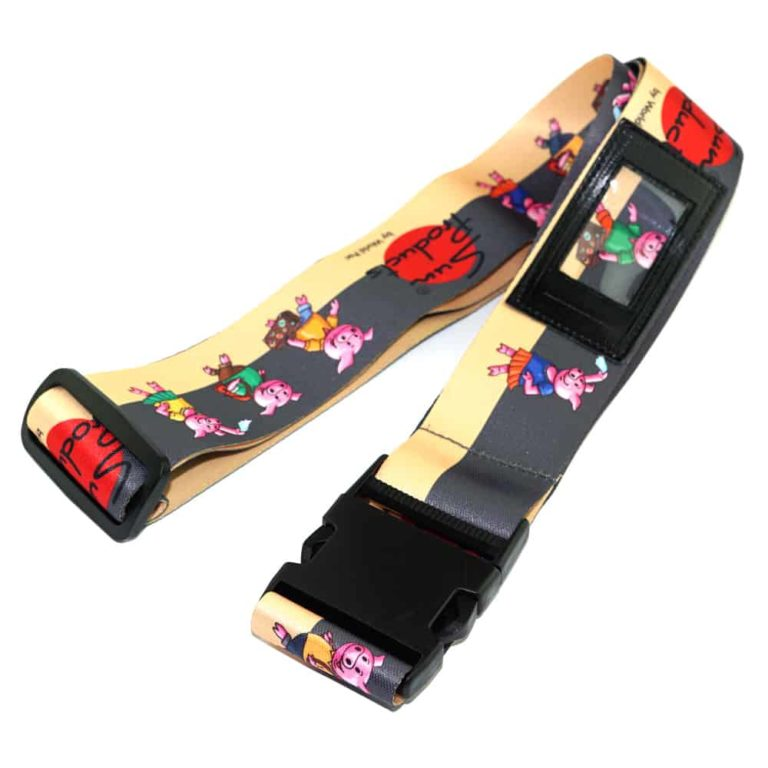 Koffergurte, Bag belts, luggage belt, Veredelung Fotodruck, Transferdruck, Werbeartikel