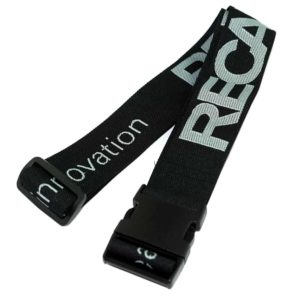 Koffergurte, Bag belts, luggage belt, Veredelung gewebt - Motiveinwebung, Logoeinwebung - Werbeartikel