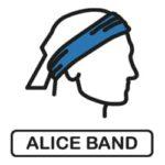 Multifunktionsbandana, Schlauchtuch, Haarband