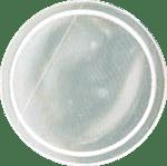 reflektierende Schnapparmbänder, Lagerfarbe 1, weiß