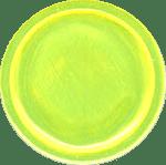 reflektierende Schnapparmbänder, Lagerfarbe 4, gelb