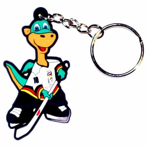 Schlüsselanhänger Weichgummiabzeichen, Weichgummi Abzeichen