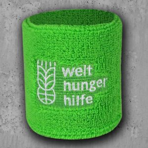 Schweissbänder mit Logostick, Schweissbänder bedruckt, Schweissbänder mit aufgenähtem Weblogo, Schweissband gewebt, Werbeartikel, Sport, Merchandiseartikel