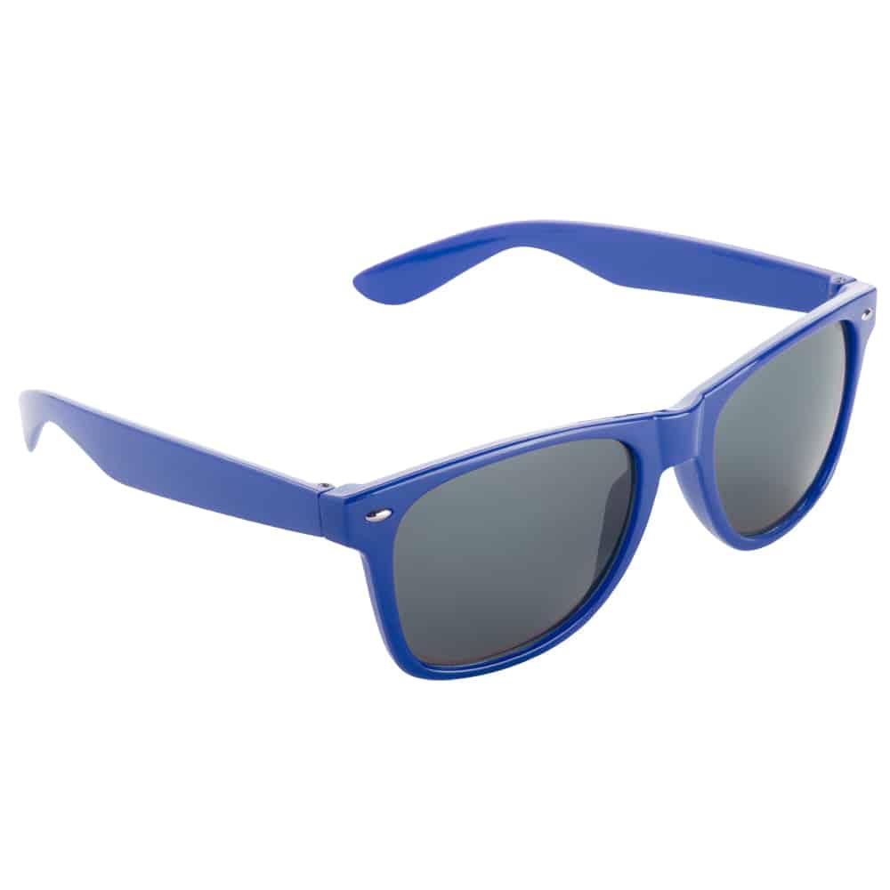 Werbe-Sonnenbrille Sun-021, Werbeartikel, bedruckt, farbe blau