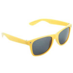 Werbe-Sonnenbrille Sun-021, Werbeartikel, bedruckt, farbe gelb