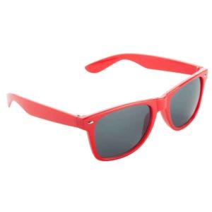 Werbe-Sonnenbrille Sun-021, Werbeartikel, bedruckt, farbe rot