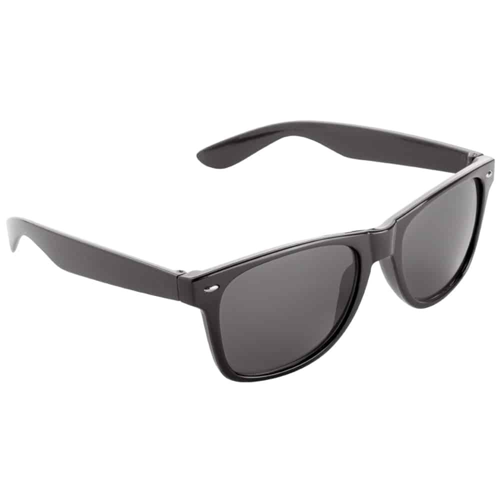 Werbe-Sonnenbrille Sun-021, Werbeartikel, bedruckt, farbe schwarz, black