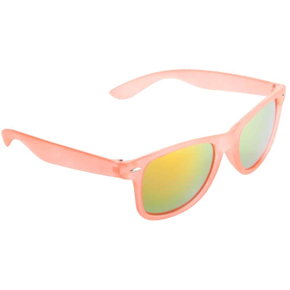 Werbe Sonnenbrille Sun-021v, frosen, verspiegelte glaeser, rosa 4, Werbeartikel