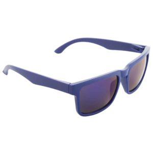 Werbe-Sonnenbrille SunCube, Werbeartikel, bedruckt, farbe blau