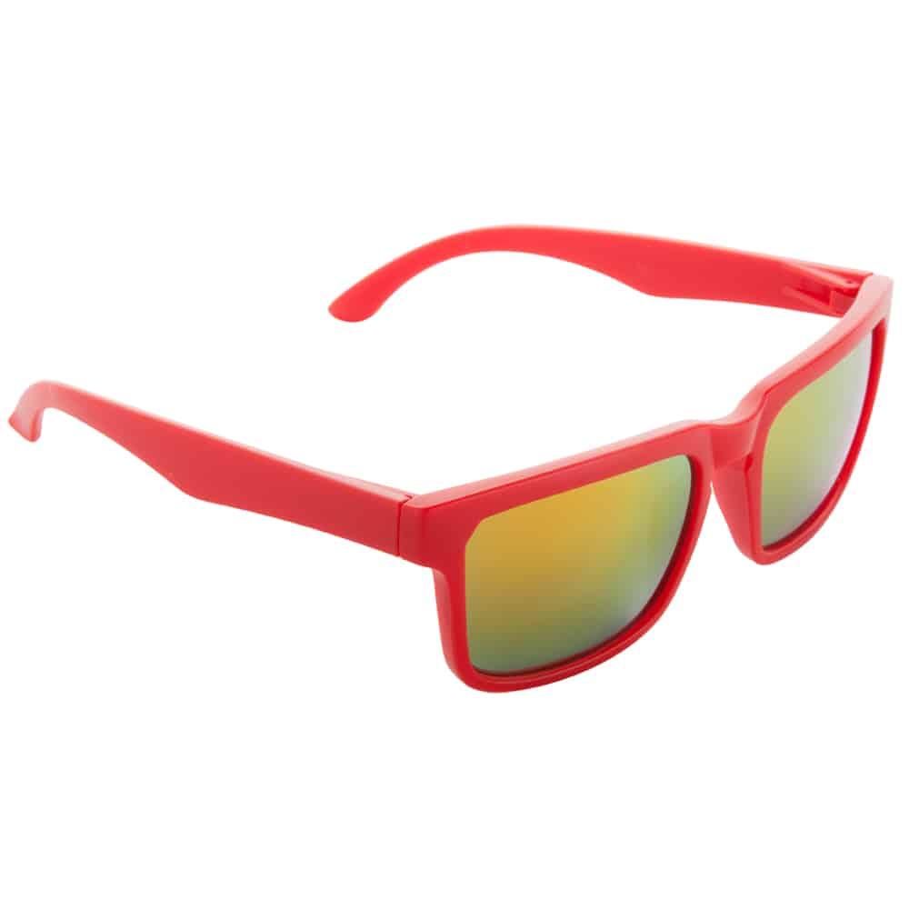 Werbe-Sonnenbrille SunCube, Werbeartikel, bedruckt, farbe rot