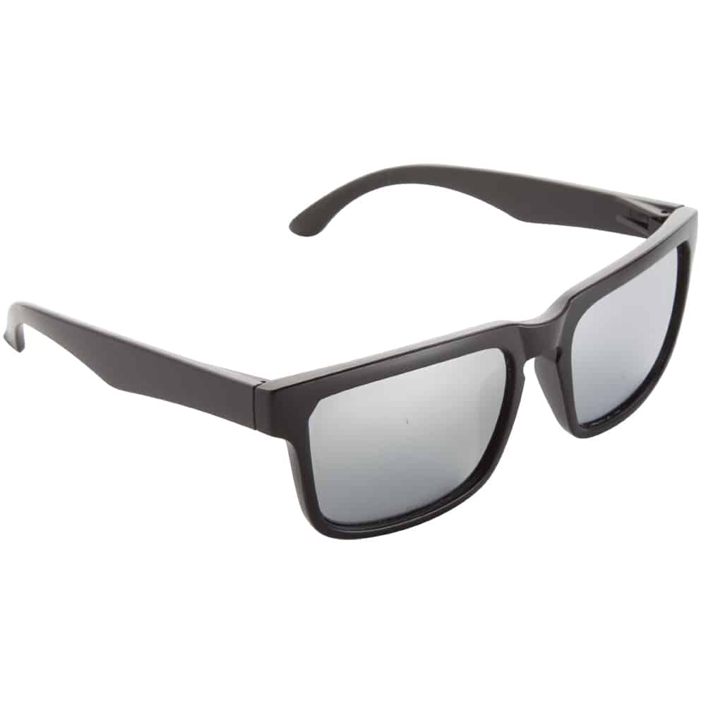 Werbe-Sonnenbrille SunCube, Werbeartikel, bedruckt, farbe schwarz black