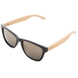 Werbe-Sonnenbrille Sunbambu, Werbeartikel, bedruckt, Bambusbügel