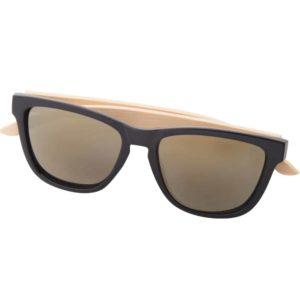 Werbe-Sonnenbrille Sunbambu, Werbeartikel, bedruckt, Bambusbügel 2