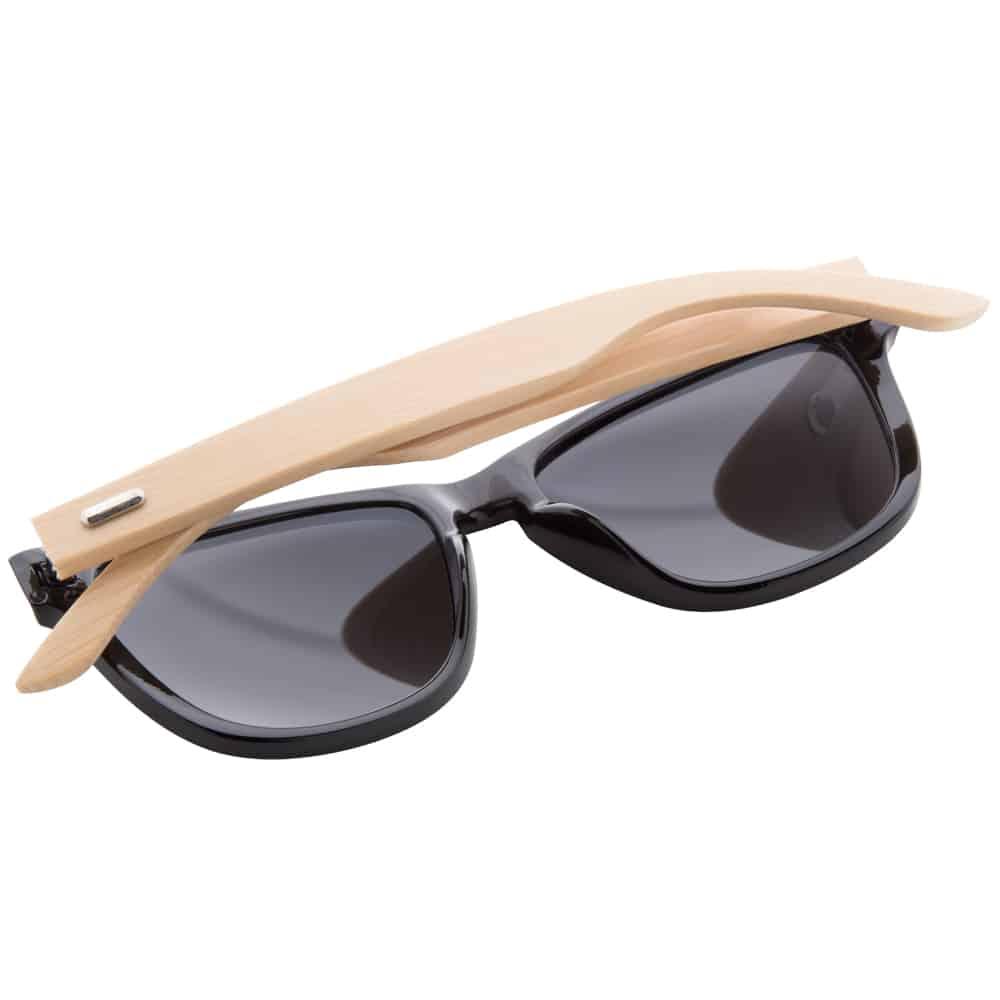 Werbe-Sonnenbrille Sunbambu, Werbeartikel, bedruckt, Bambusbügel 3