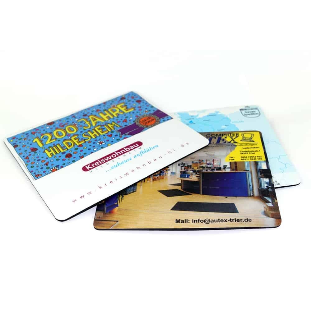 Mousepads, Werbeartikel, Microfaser-Mousepads, Neopren-Mousepads