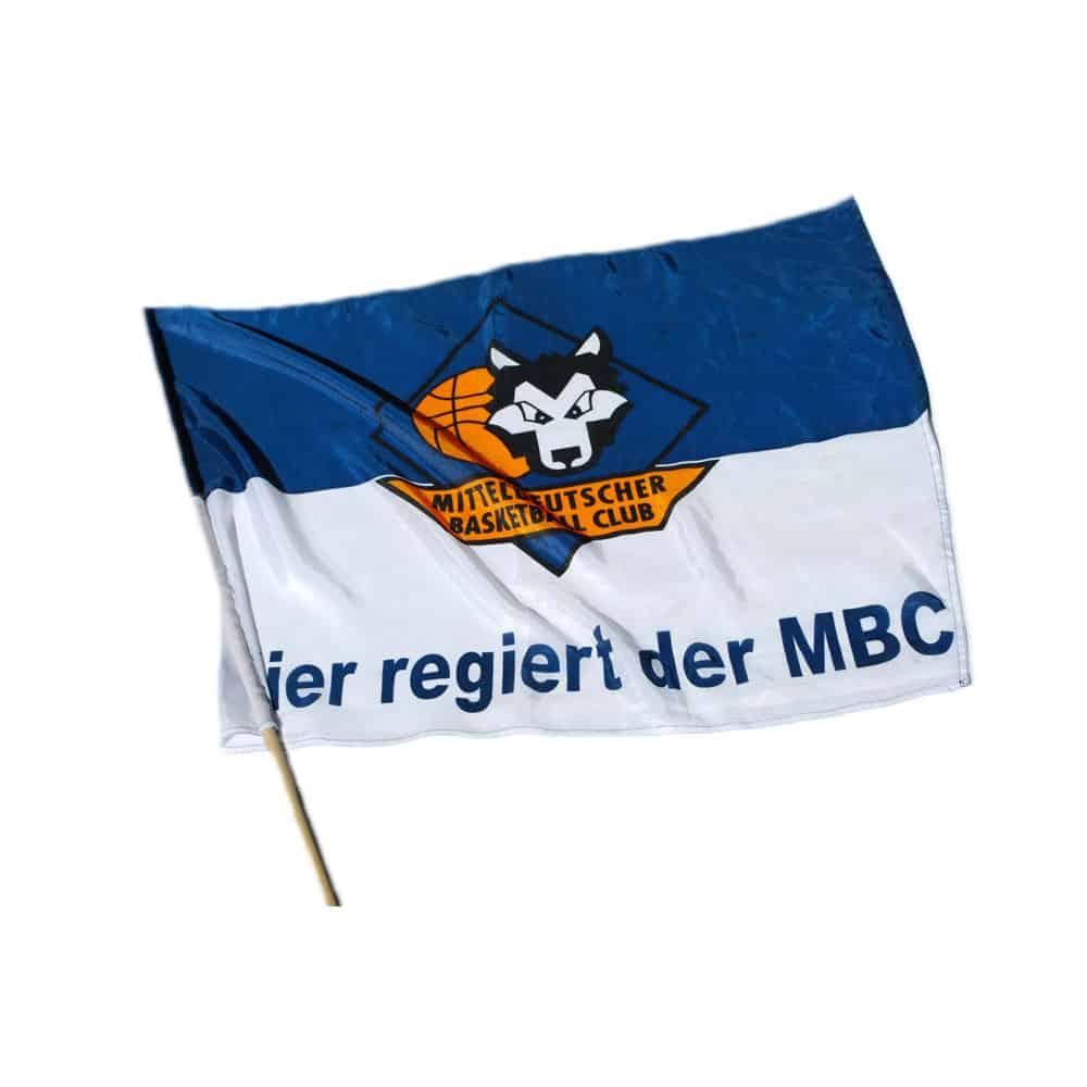 Fahne Mitteldeutscher Basketball Club