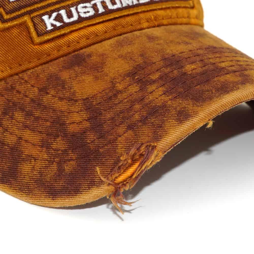 Baseballcaps mit USED Look und Stone washed als Werbeartikel oder Fanartikel, Merchandise