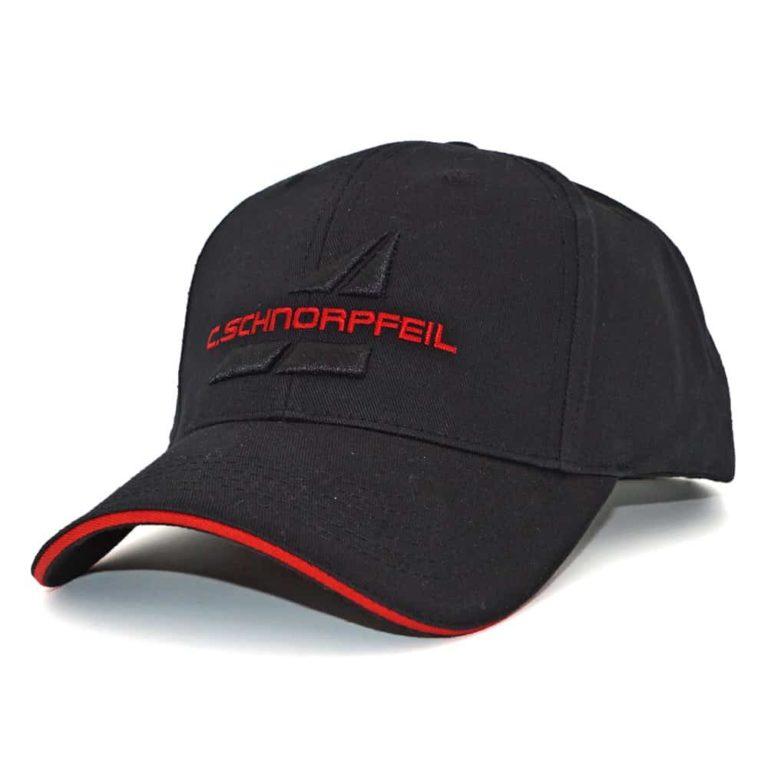 Baseballcap bestickt, 3D-Stick, Werbeartikel, Berufsbekleidung