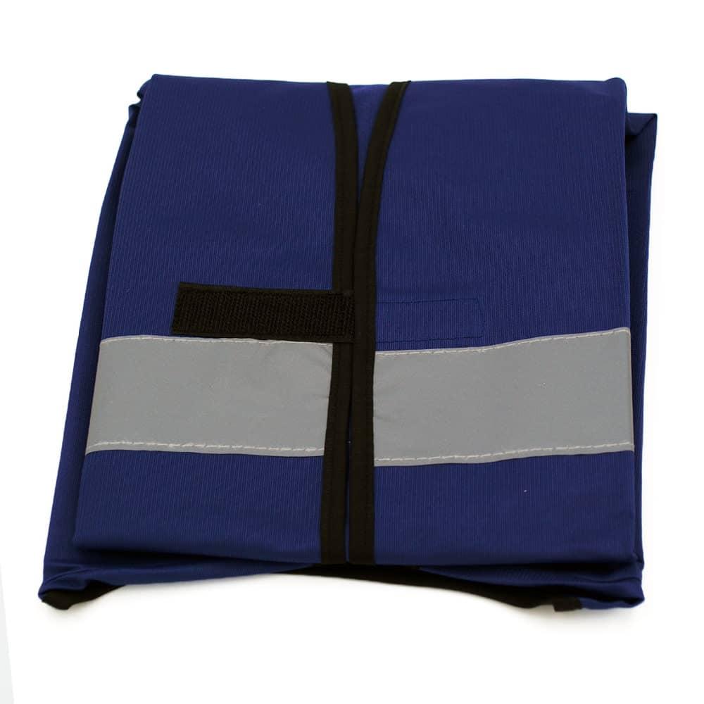 Funktionsweste, Ornderweste dunkelblau-schwarz bedrucken lassen