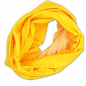 Schlauchschal gelb