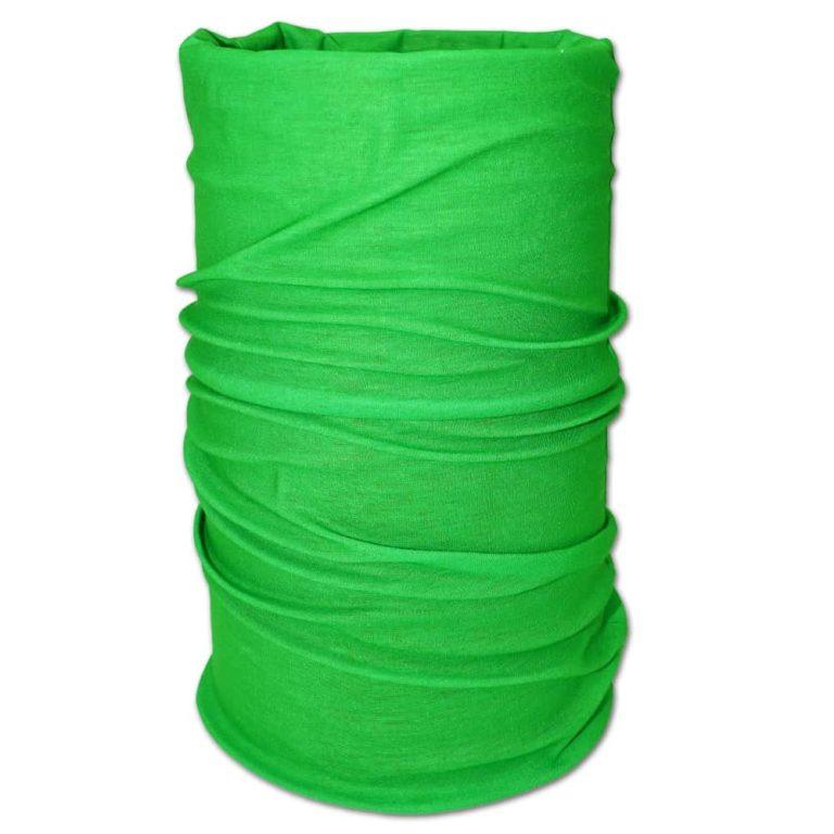 Multifunktionstuch, Bandana grün