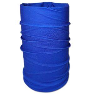 Multifunktionsbandana, Schlauchschal royal blau