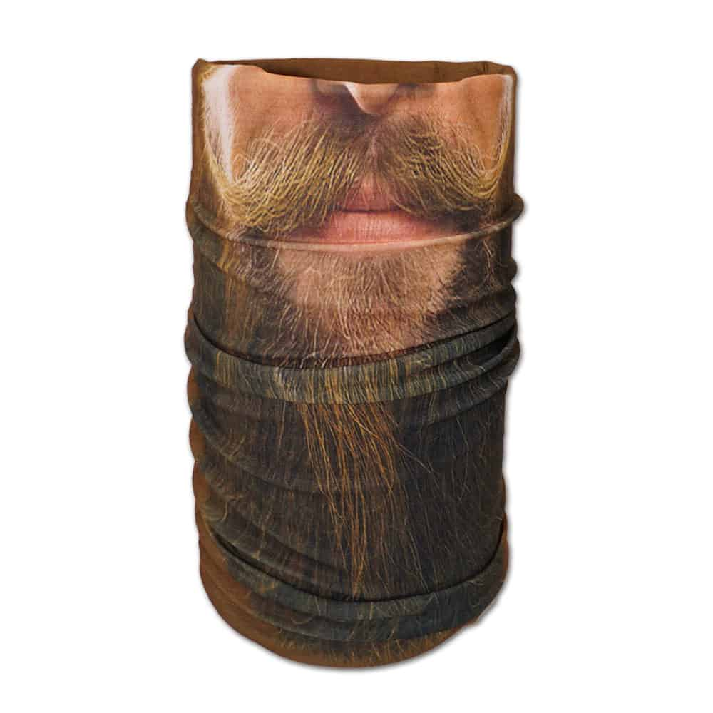 Schlauchtuch, Bandana, Gesichtsschutz, Multifunktionstuch, Bart