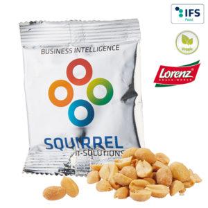 Nüsse mit Logo auf der Packung