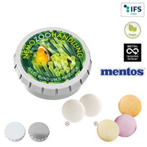 Mentos mit Logo auf der Packung