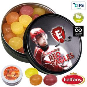 Bonbons mit Logo auf der Packung