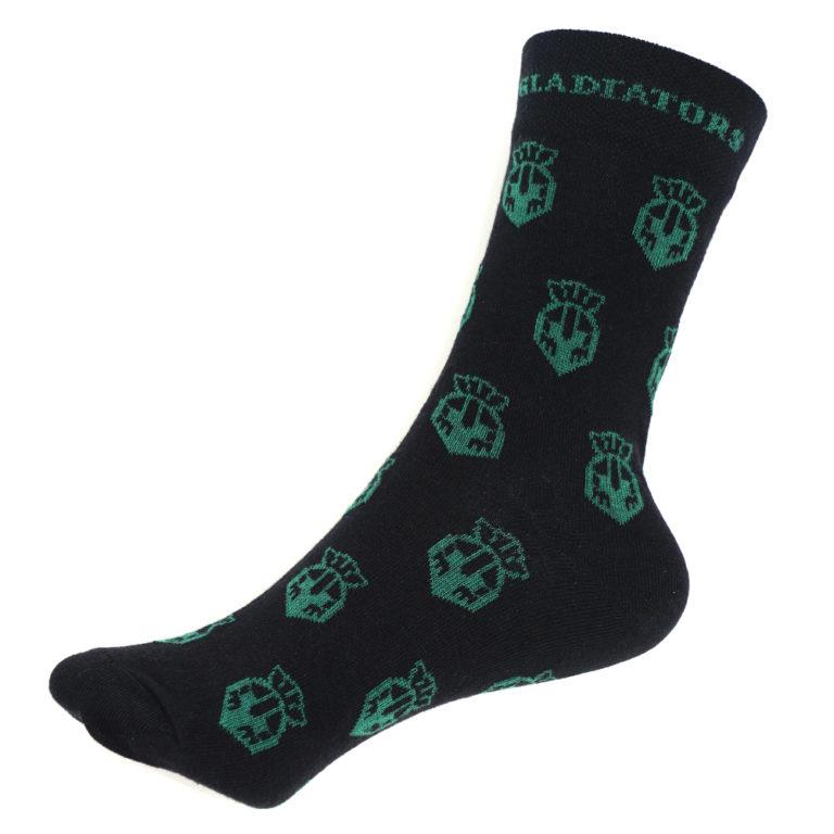 Business Socken mit Motiveinwebung - Nonvision