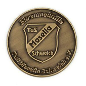 Münzen Ehrenmedaillen mit Gravur - Nonvision