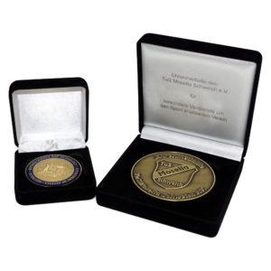 Münzen Ehrenmedaillen mit Verpackung - Nonvision