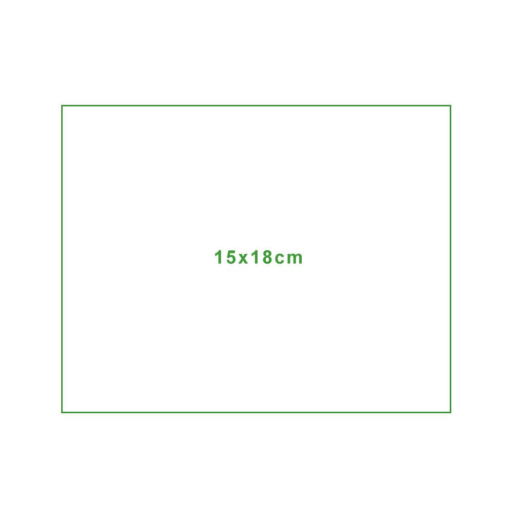 Mikrofasertuch Standardgröße-15x18cm