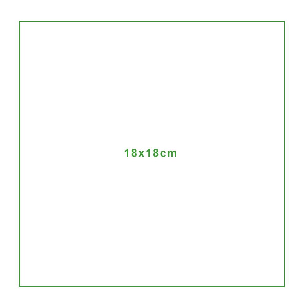 Mikrofasertuch Standardgröße-18x18cm