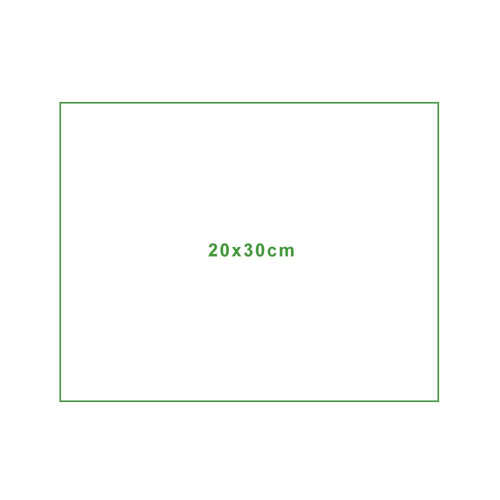 Mikrofasertuch Standardgröße 20x30cm