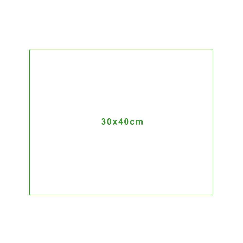 Mikrofasertuch Standardgröße 30x40cm