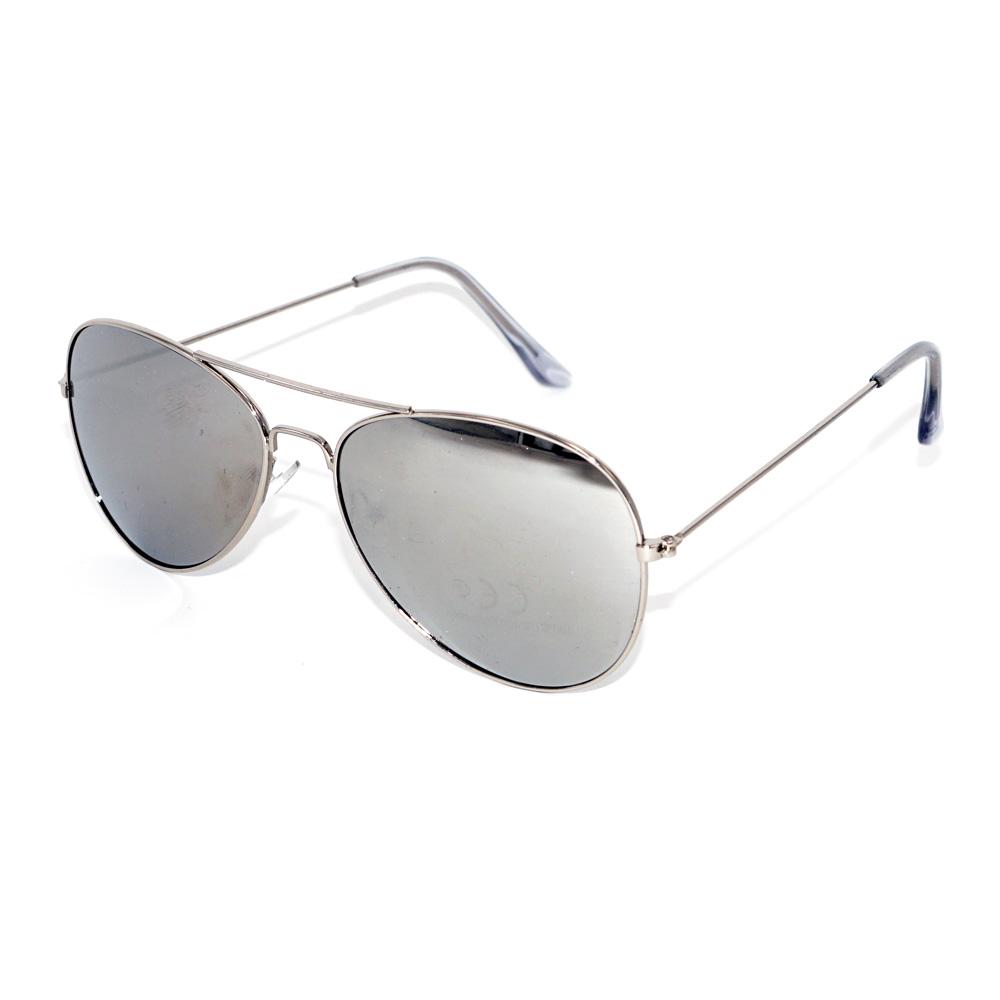 Pilotensonnenbrillen in Silber - Nonvision