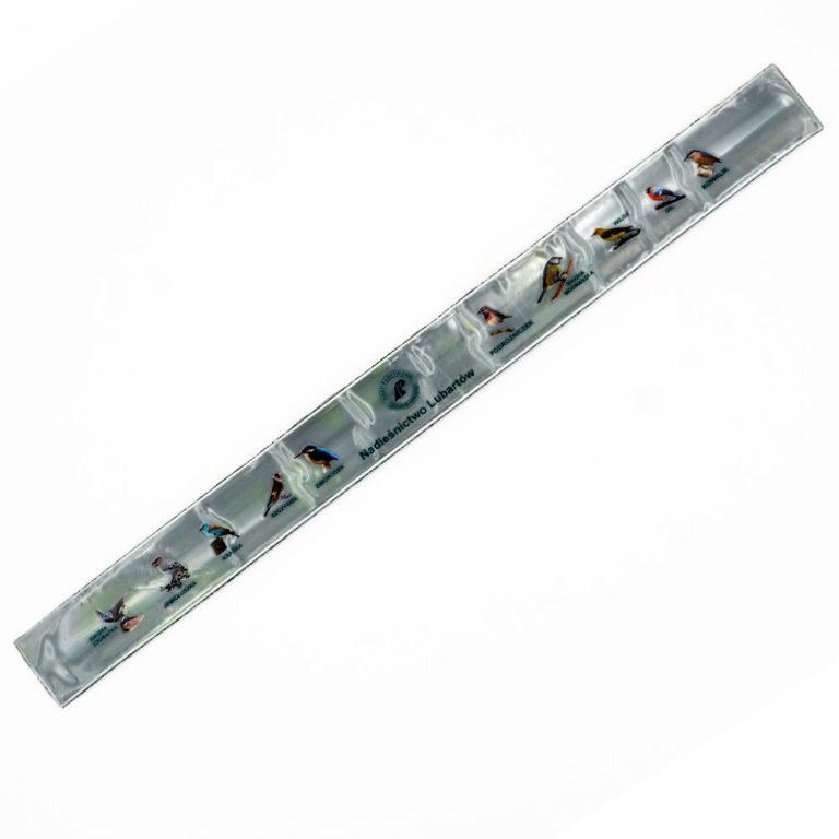 reflektierende Schnapparmbänder bedrucken lassen offsetdruck