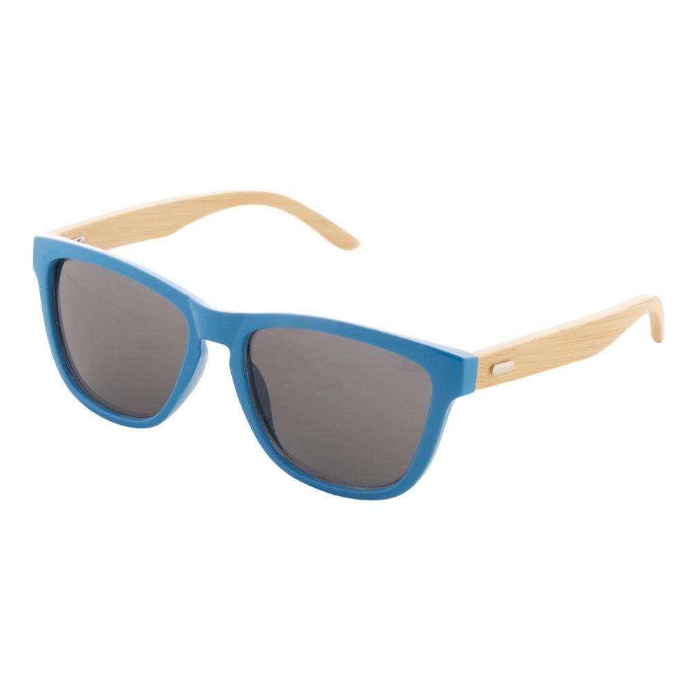 Blaue Bambus-Sonnenbrille - Nonvision