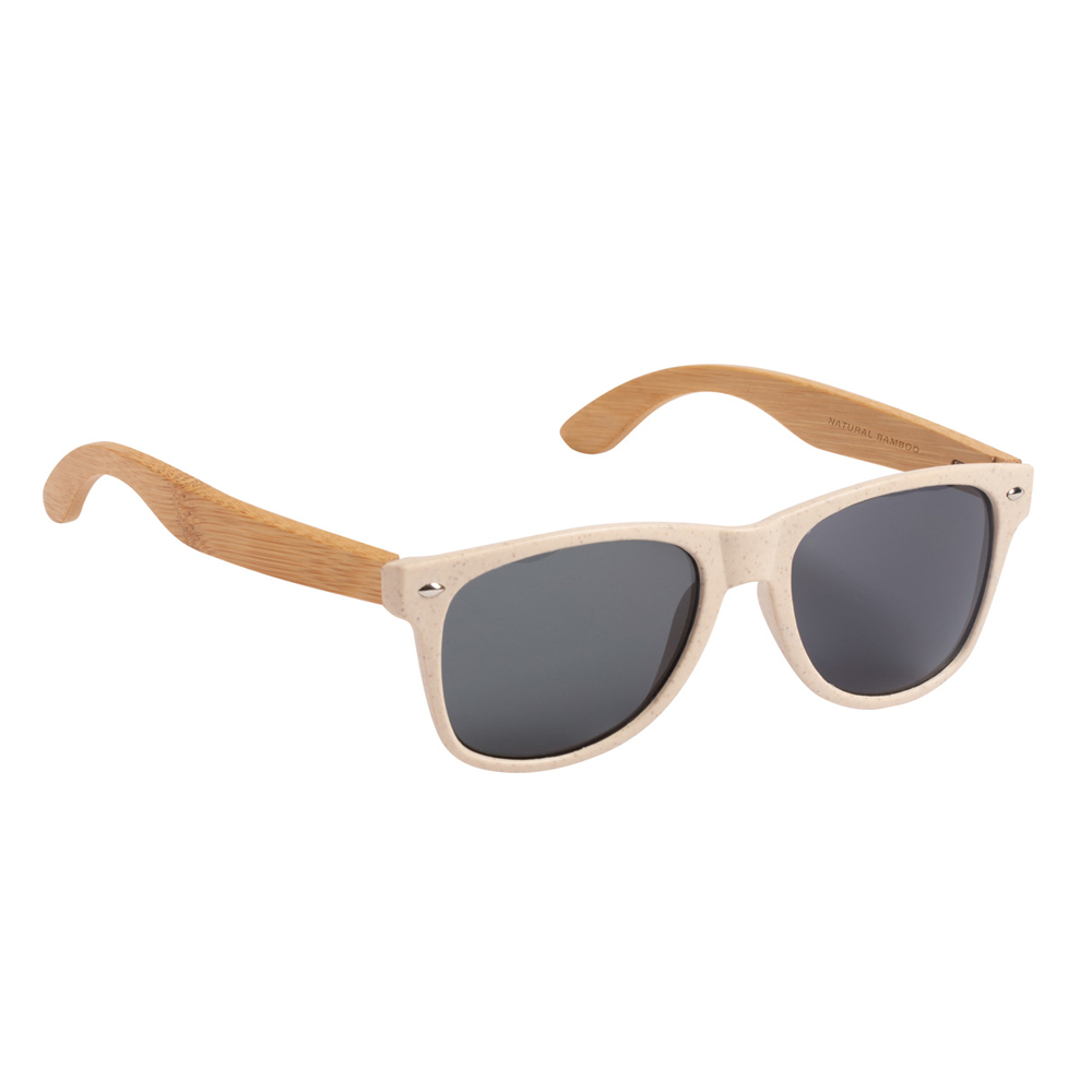 Sonnenbrille Bambus Kunststoff