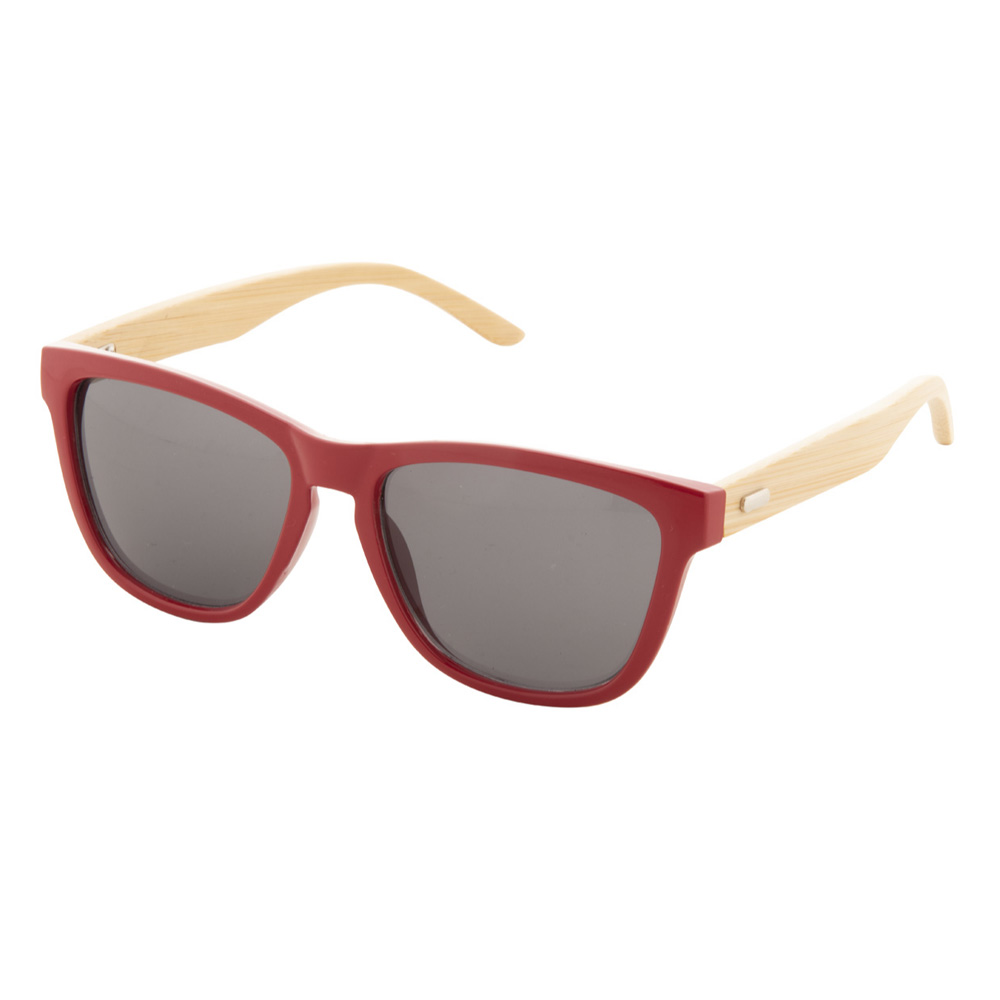 Rote Bambus-Sonnenbrille - Nonvision