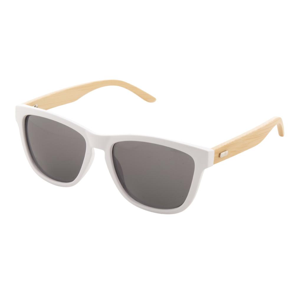 Weiße Bambus-Sonnenbrille - Nonvision