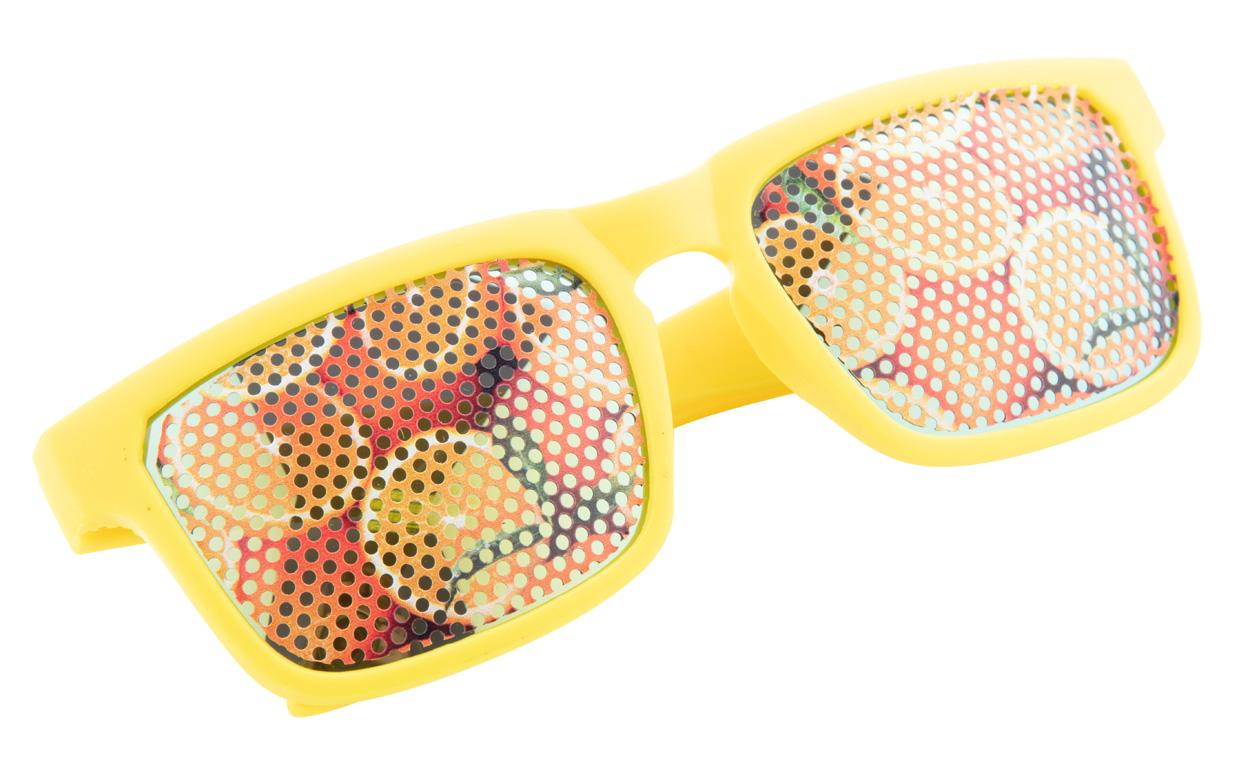 Werbesonnenbrille SUNCUBE mit Gläserbedruckung - Nonvision