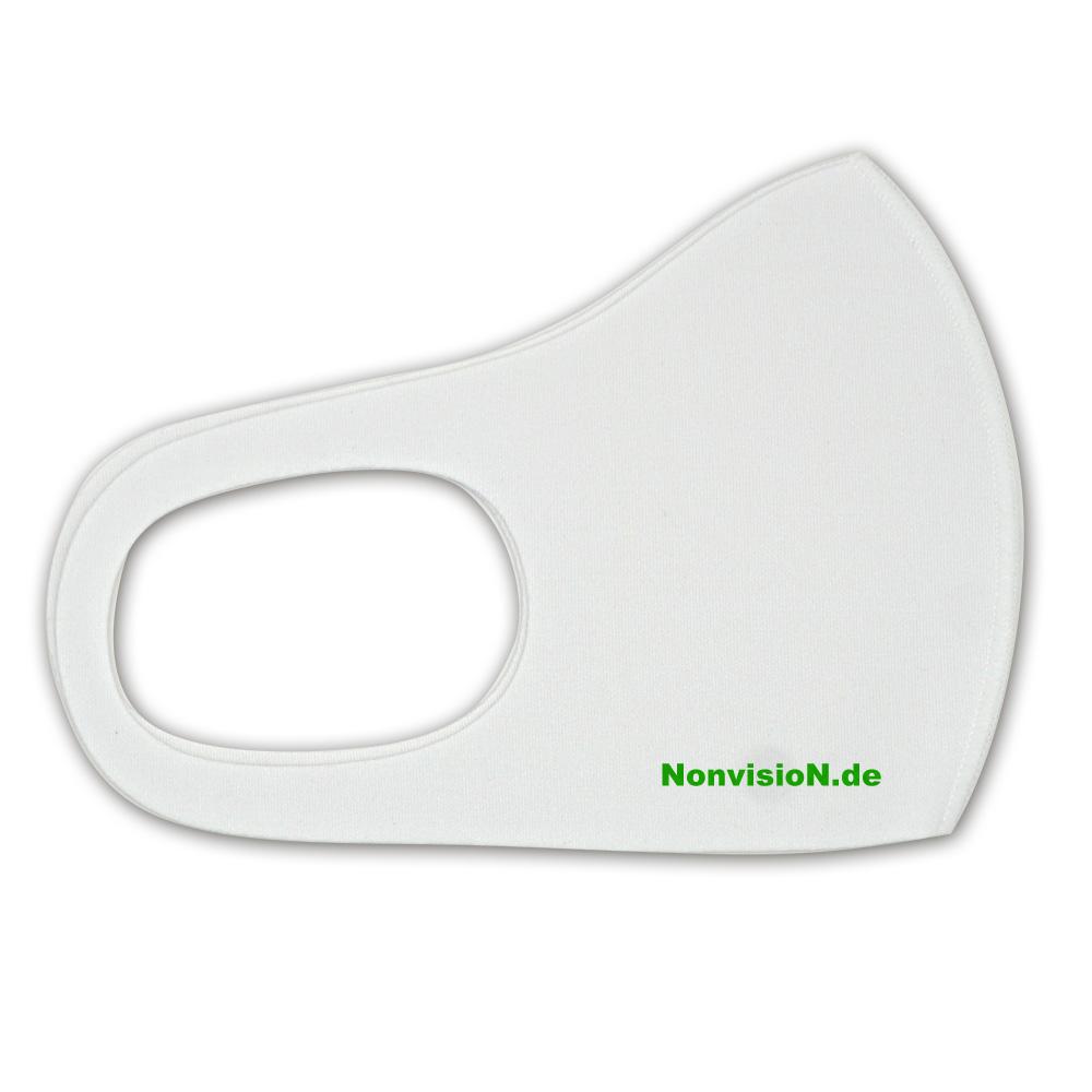 antibakterielle Masken mit Siebdruck